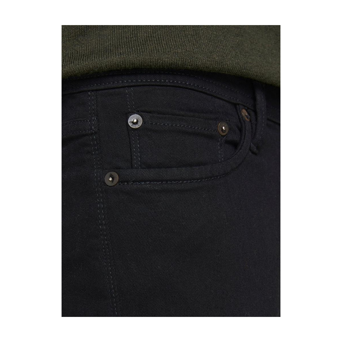 jjiglenn jjfelix am 046 50sps lid n 12113450 jack & jones jeans black denim
