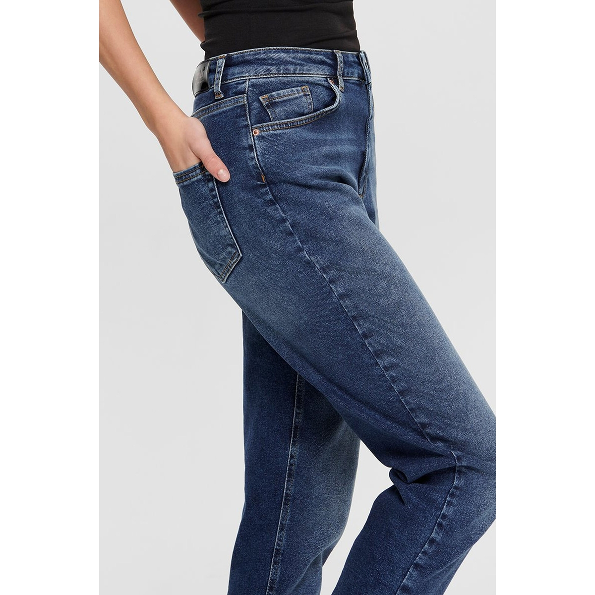 onlveneda life mom jeans rea844 noo 15206610 only jeans dark blue denim