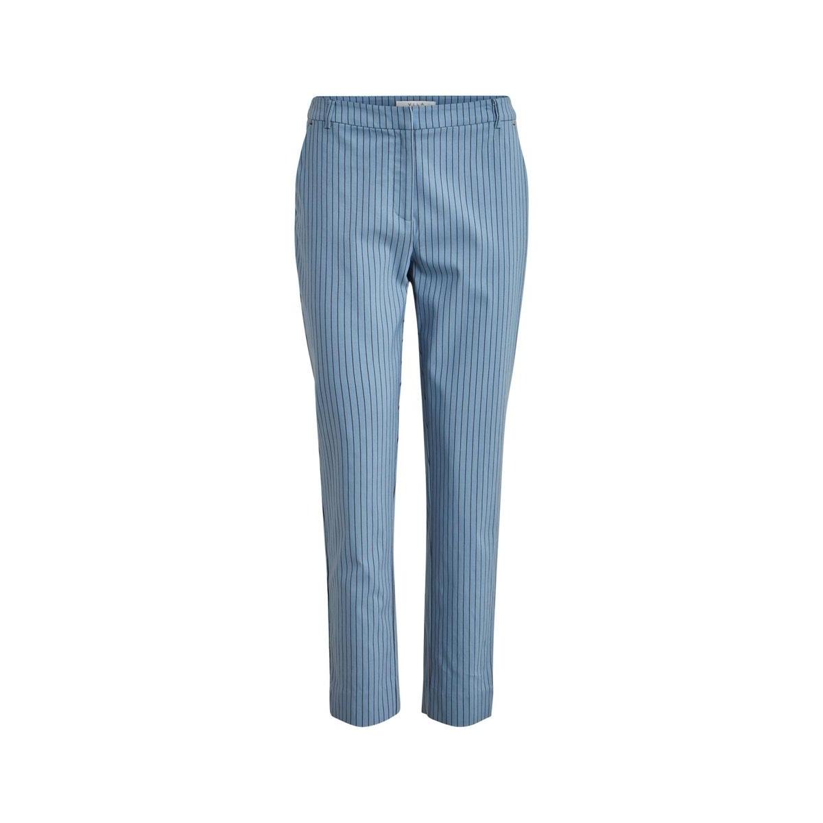 vimarikka rwsl 7/8 pants 14056126 vila broek ashley blue/rawhide