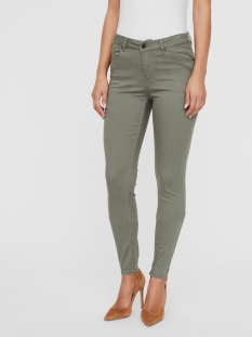 Vero Moda Broek VMHOT SEVEN MR SLIM PUSH UP PANTS 10210798 LAUREL WREATH
