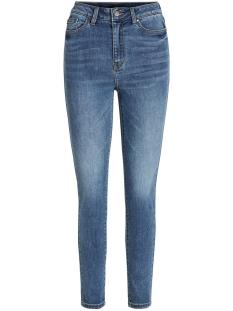 Object Jeans OBJWIN MW SKINNY JEANS PB8 23033133 Medium Blue Denim