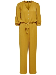 onlisabella 3/4 sleeve jumpsuit wvn 15207057 only jumpsuit chai tea