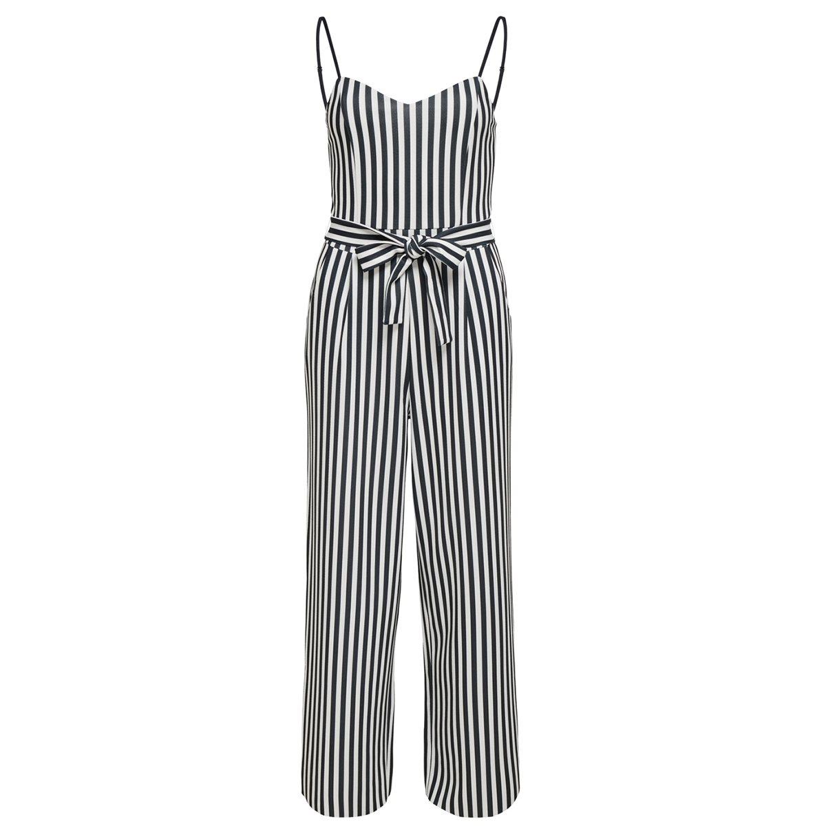onltina s/l bow jumpsuit jrs 15204640 only jumpsuit black/cloud danc