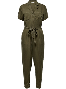 ONLMARY LIFE  S/S LONG JUMPSUIT WVN 15208076 Martini Olive