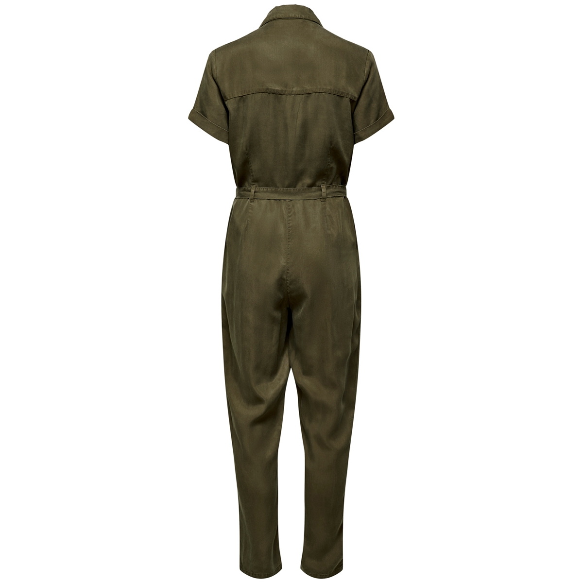 onlmary life  s/s long jumpsuit wvn 15208076 only jumpsuit martini olive