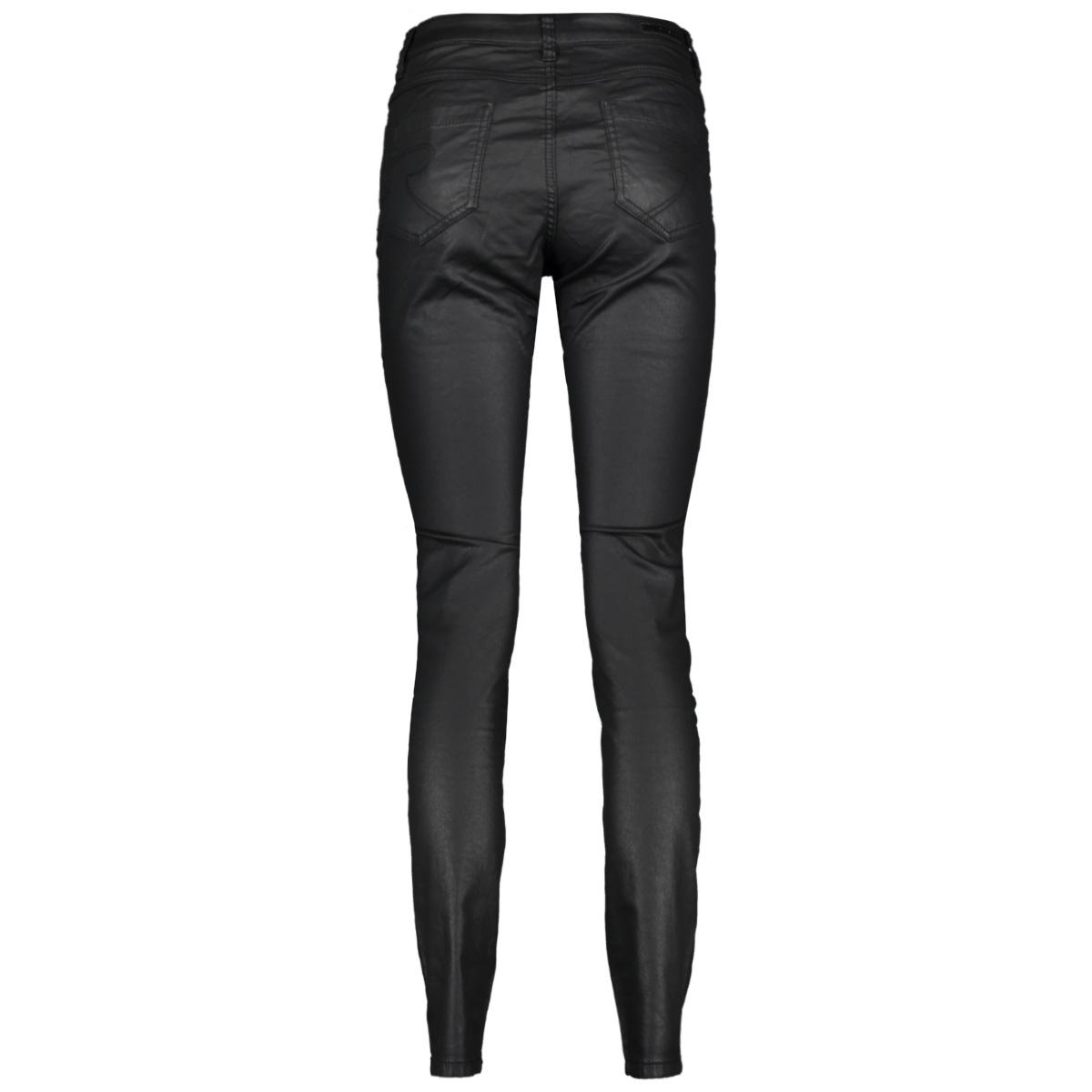 coated jeans 01516 10 geisha jeans black