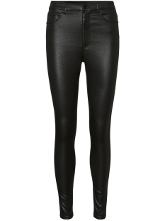 Vero Moda Broek VMLOA HR SKINNY S COATED PANT GA NO 10234919 Black