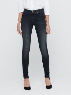 Only Jeans ONLSHAPE LIFE REG SKINNY REA095  15209614 BLACK DENIM