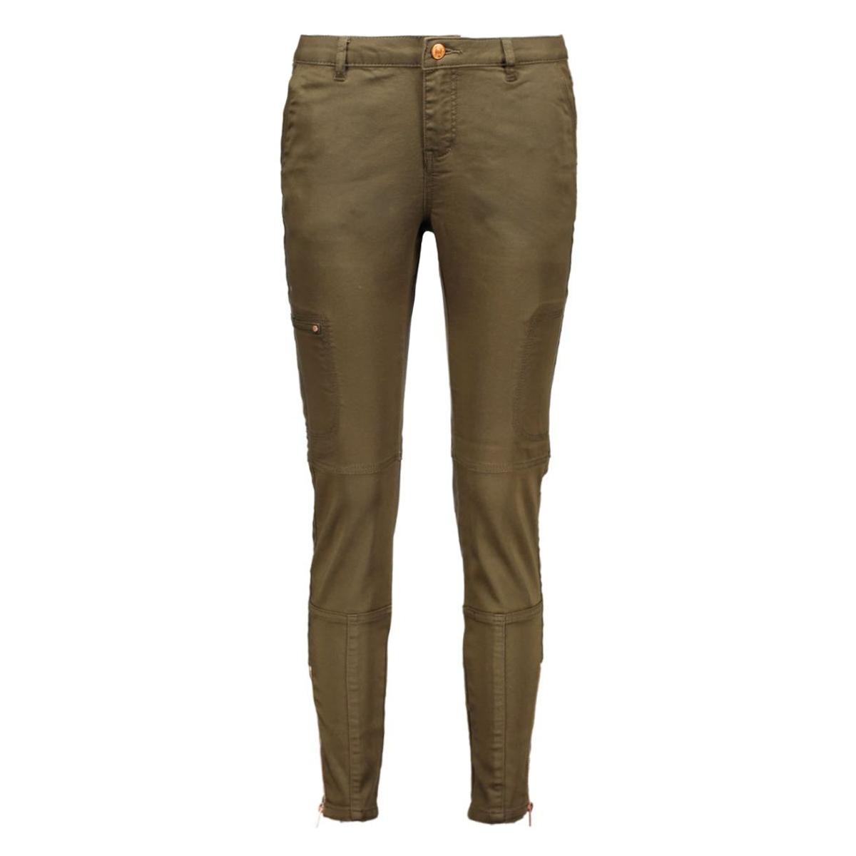 vmwish cargo ankle jegging 10135456 vero moda broek ivy green