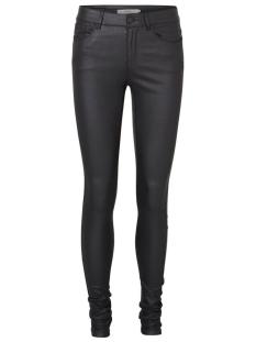 Vero Moda Broeken vmSeven slim smooth coated pants 10138972 black