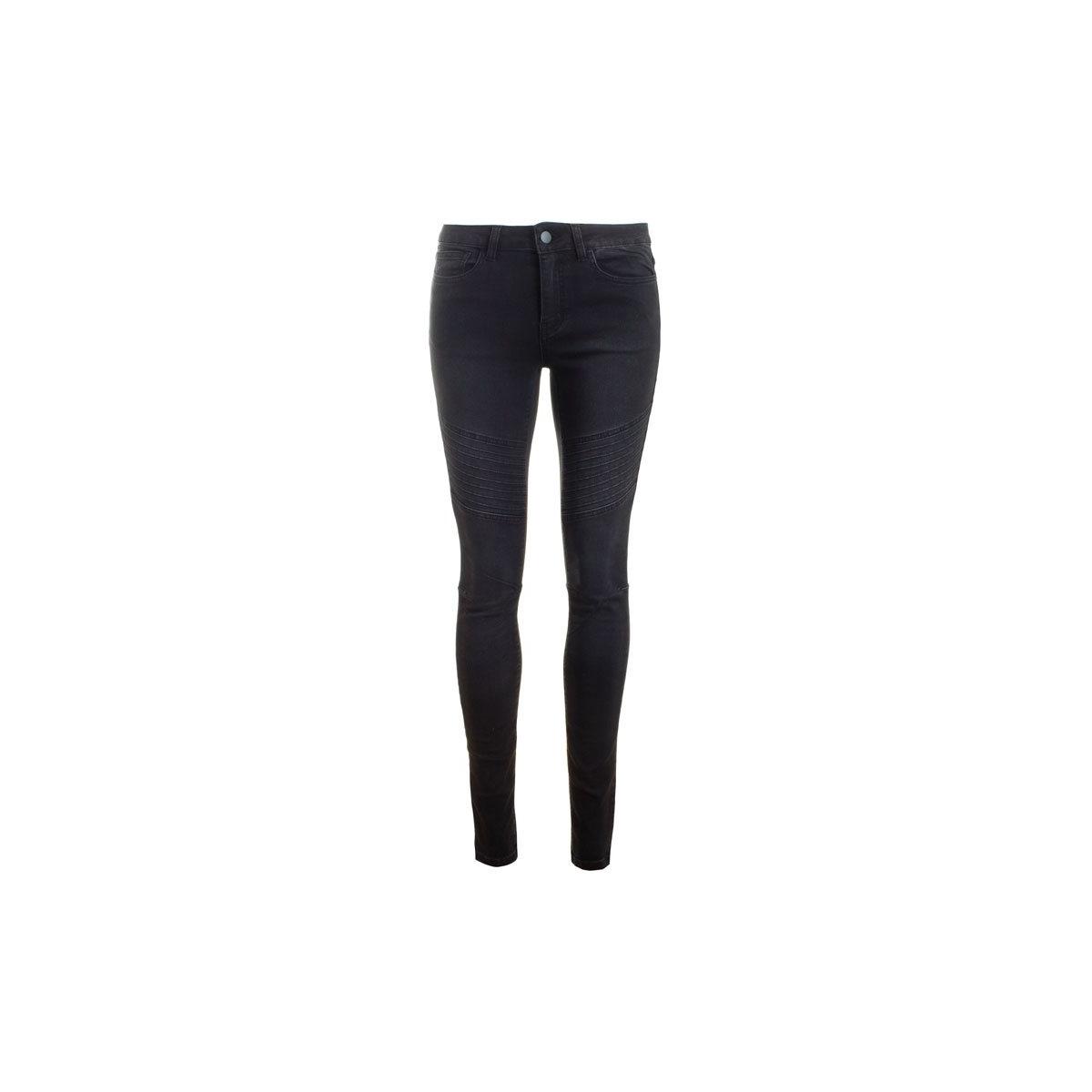 pc just jute washed 17067530 pieces broek black