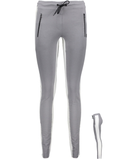 Blue Pepper Broek SLIM JOGGER 2 GREY-BONE