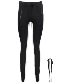 Blue Pepper Broek SLIM JOGGER 2 BLACK-BONE