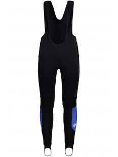 Sans Sport broek 53547 BIBTIGHT RACE WINTER BLAUW WIT