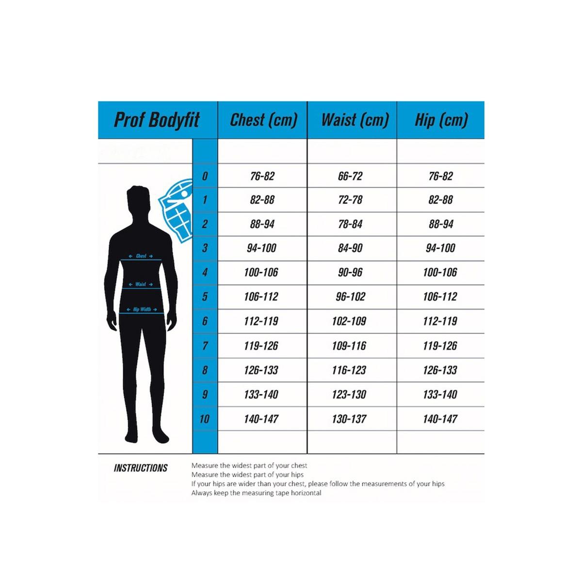 53547 bibtight race winter sans sport broek blauw wit