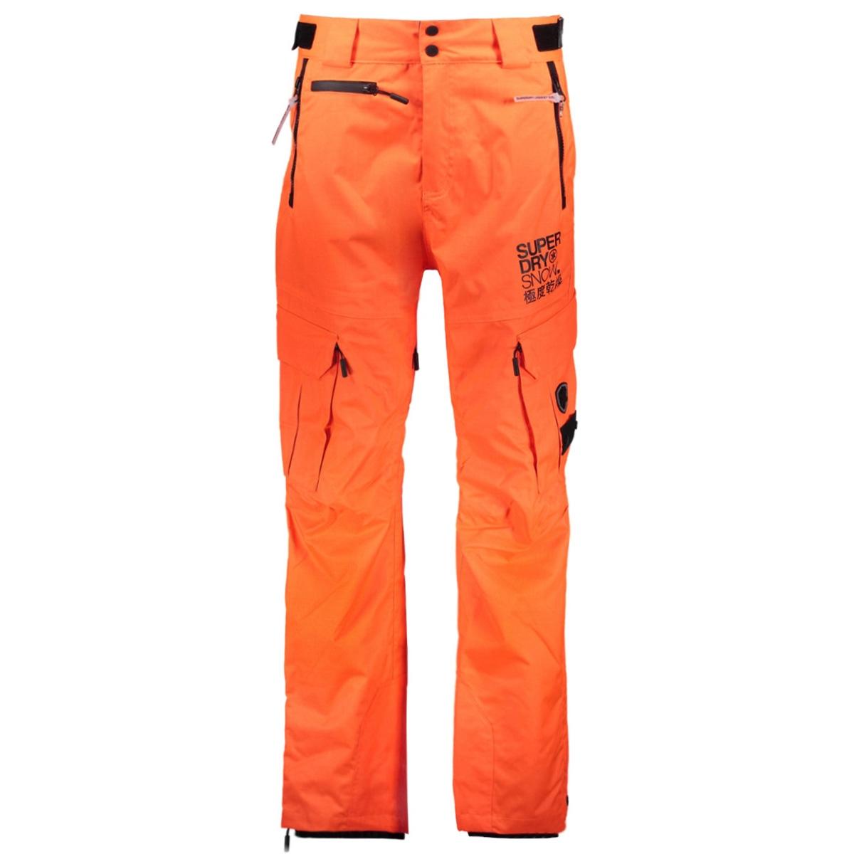 m70002wpf2 snow pant superdry sport broek me3 orange