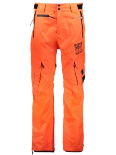 Superdry Sport broek M70002WPF2 SNOW PANT ME3 ORANGE