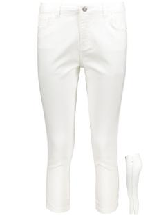 Zoso Jeans MATCH DENIM CAPRI WHITE