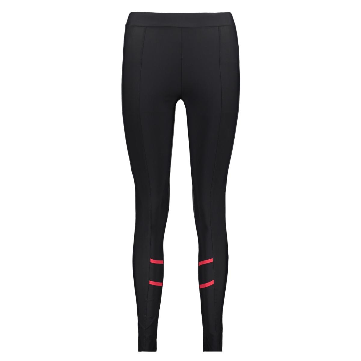 fanny travel pant zoso legging black/red
