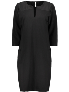 Zoso Jurk AUDREY 2 PUNTO DRESS BLACK