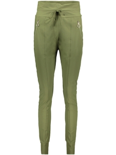 Zoso Broek TRAVEL TROUSER ZIPPER HR1937 ARMY