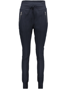 Zoso Broek TRAVEL TROUSER ZIPPER HR1937 NAVY