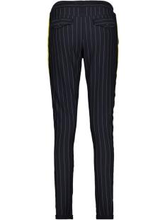 pinstripe trouser zoso broek navy/yellow