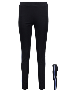 Zoso Broek TIGHT PANT WITH PIPING SR1914 NAVY/COBALT