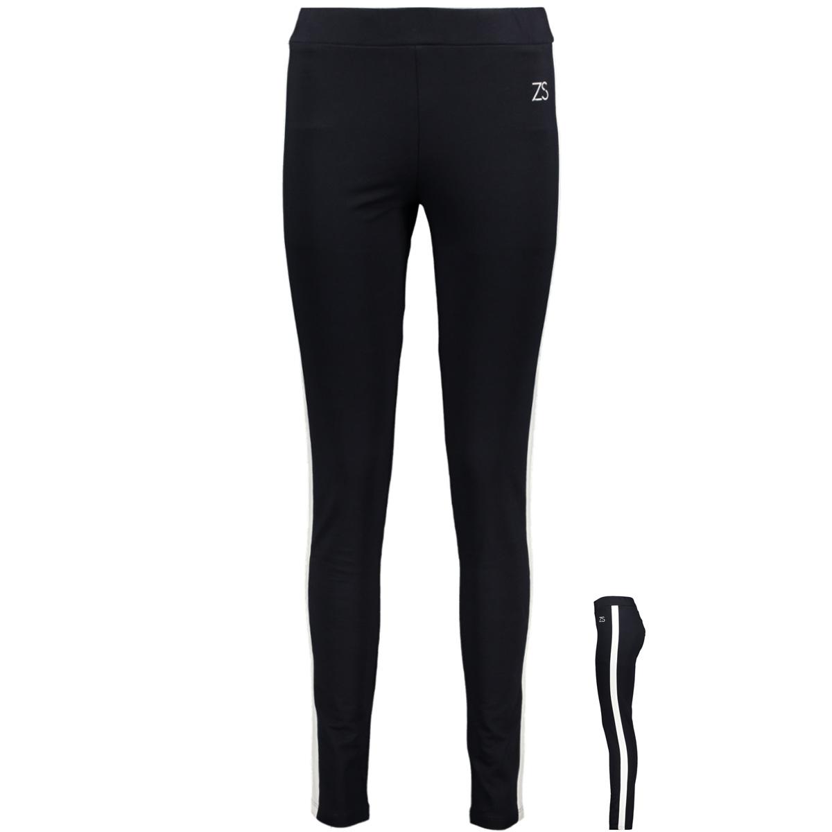 printed legging sr1933 zoso legging navy/offwhite