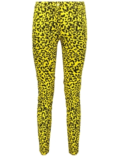 IZ NAIZ Broek 3568 CHINO LEOPARD YELLOW