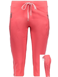 Zoso Broek SIL CAPRI 193 RED/WHITE