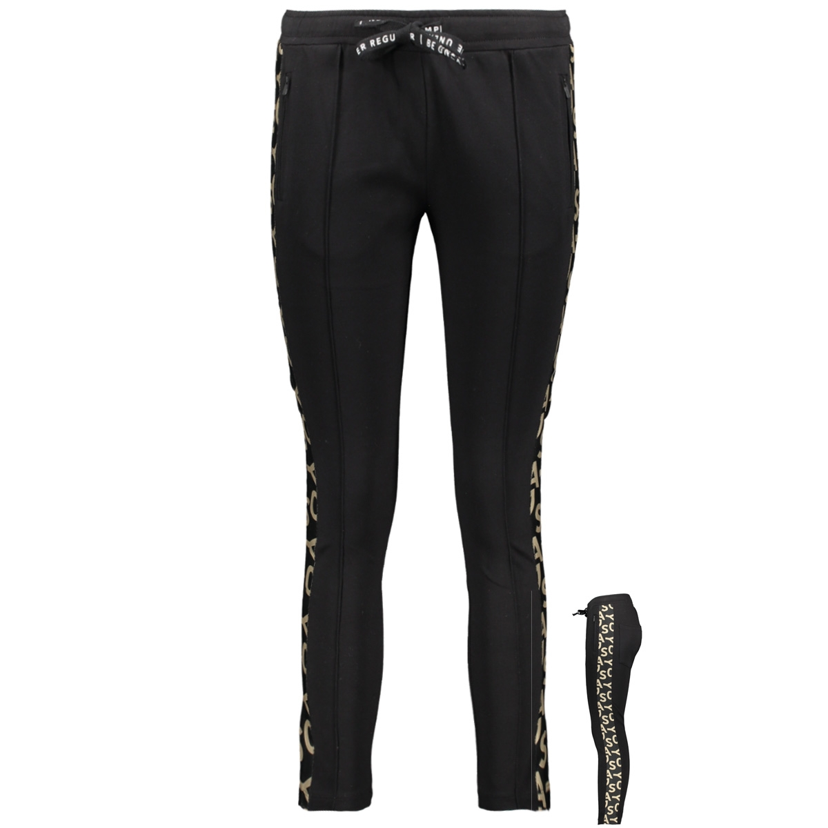 sporty pants 20 015 9103 10 days broek black