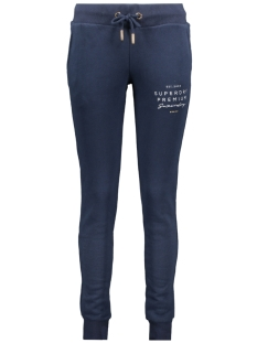 applique joggers w7000005a superdry broek navy