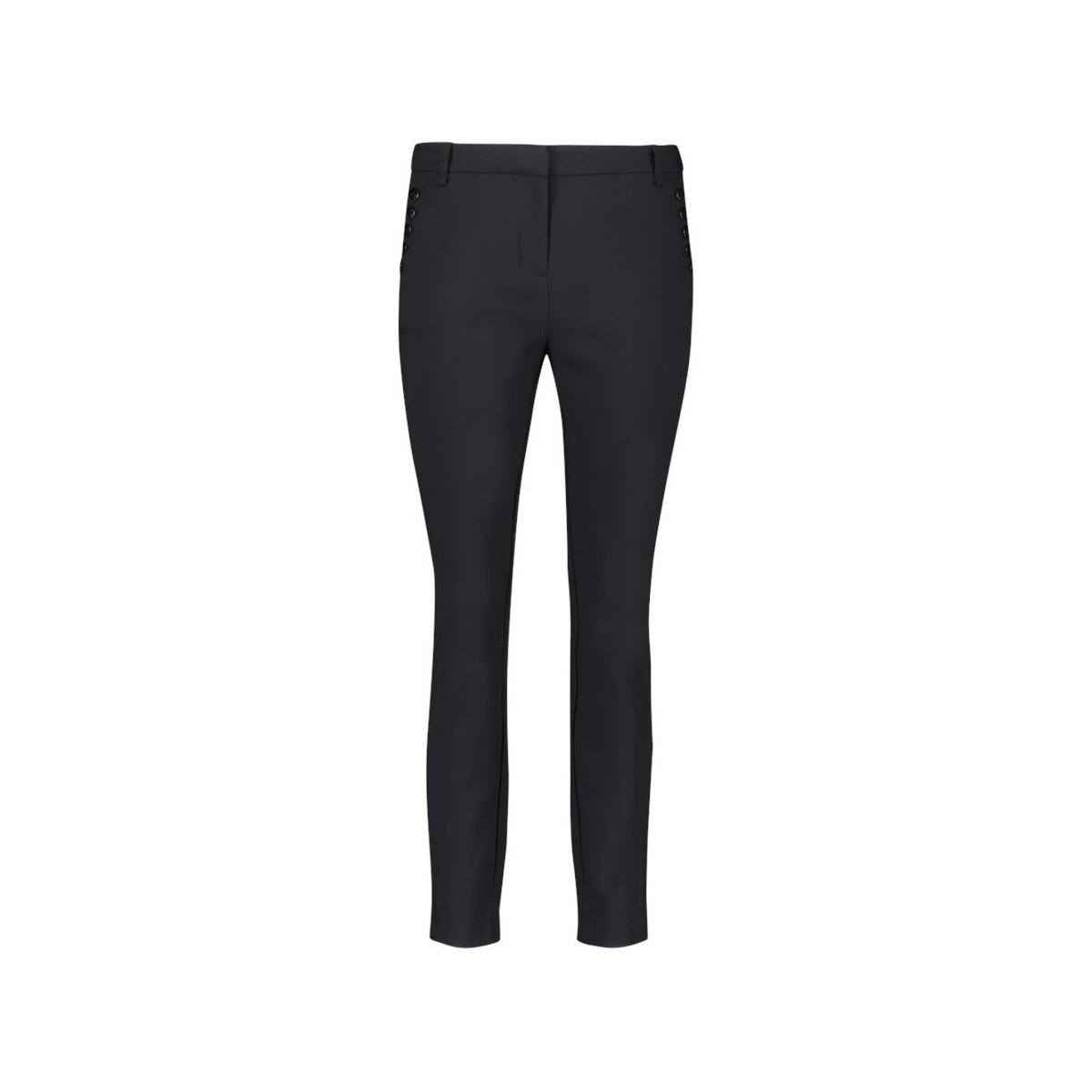 parien buttons vis 345 trousers aaiko broek black