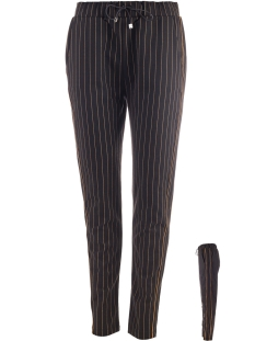 NED Broek TRAVIS 19W1 GP087 04 OKER STRIPES