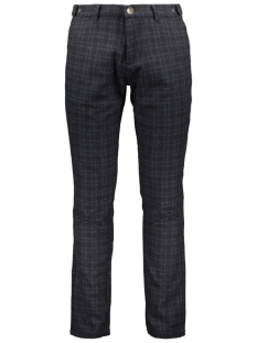 NO-EXCESS Broek CHECKED PANTS 927070809 078 NIGHT