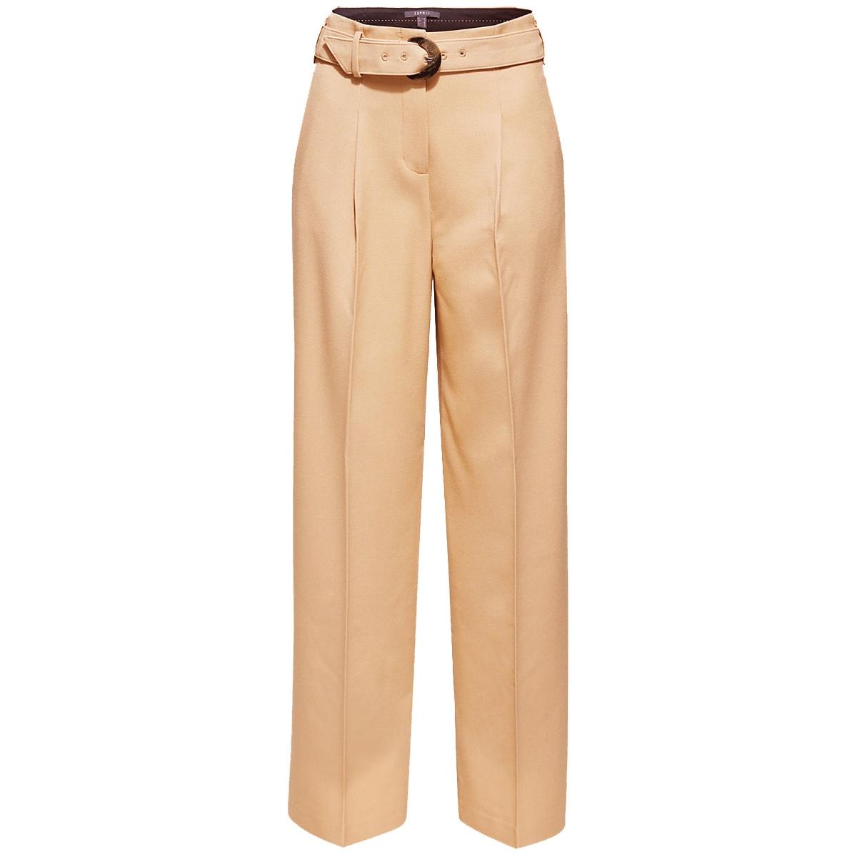wijde broek met hoge tailleband en riem 109eo1b036 esprit collection broek e230
