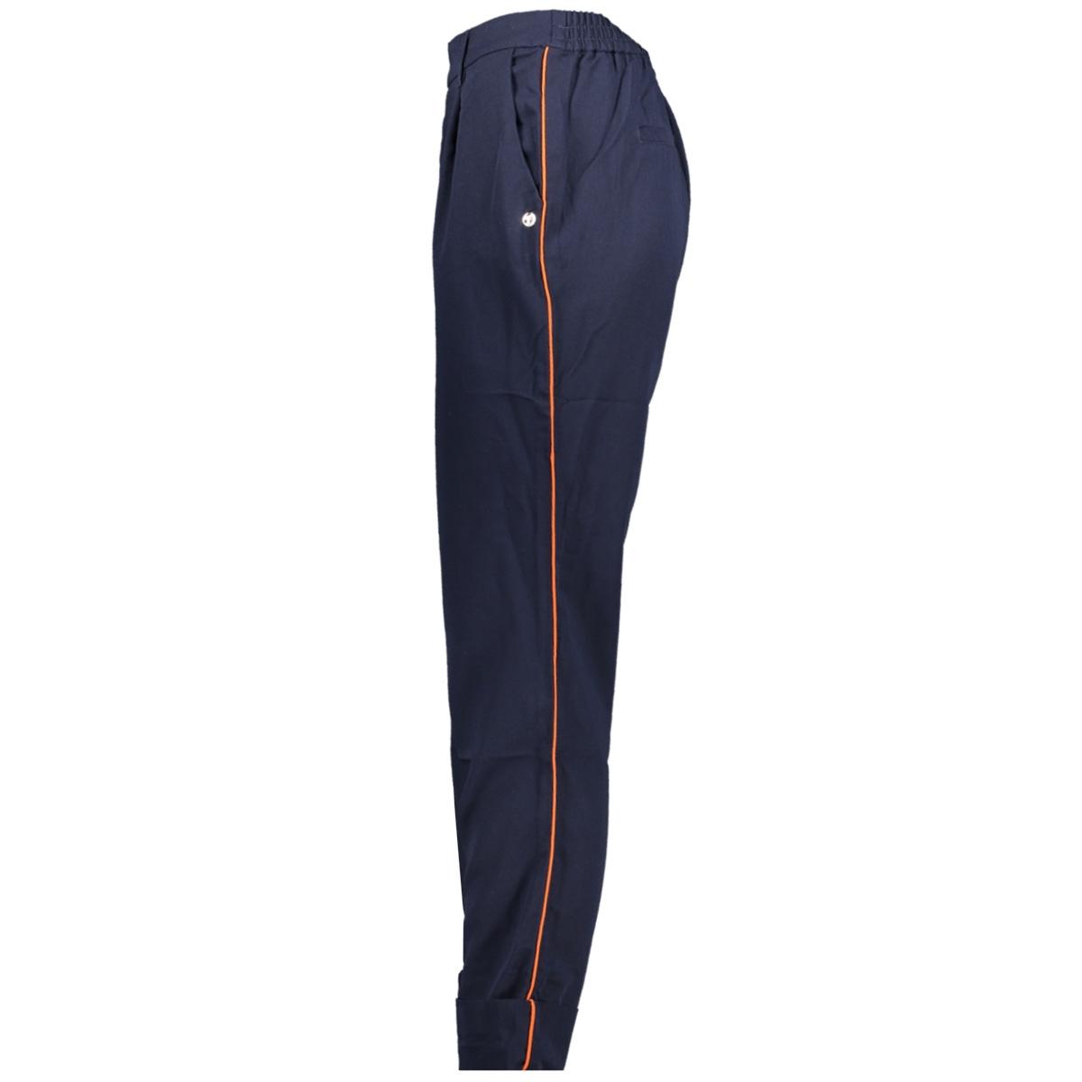 broek met contrasterende streep 1014611xx71 tom tailor broek 10360