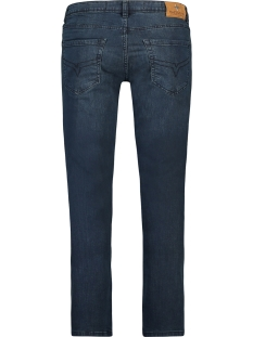 denim sunrise slim mc 0502 haze & finn jeans blue black wash