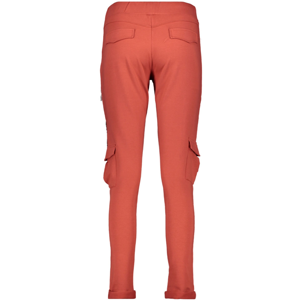 paloma trouser with detail 201 zoso broek 0072 desert red