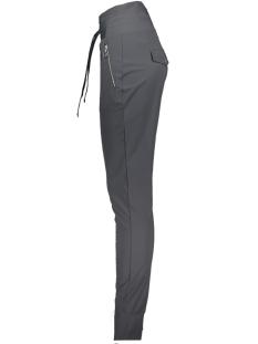 veronica trouser with zipper 201 zoso broek 0059 charcoal