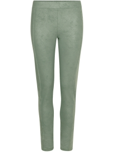 Zoso Broek STRONG COATED TIGHT PANT 202 Greenstone