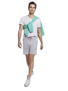 katoenen short 1020004xx12 tom tailor korte broek 15398