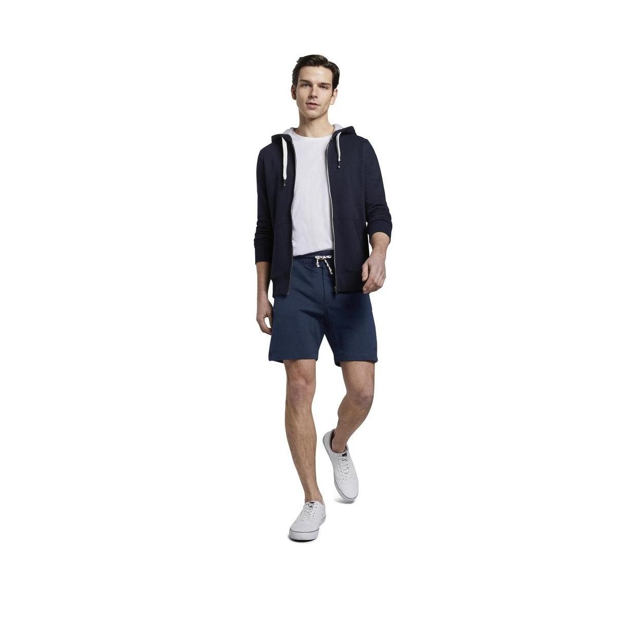 katoenen short 1020004xx12 tom tailor korte broek 10915