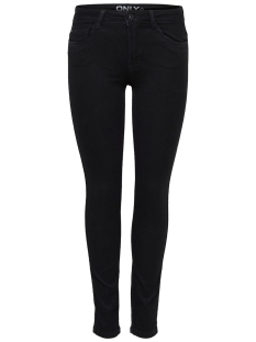 Only Jeans Skinny reg. soft ultimate black 15077793 black denim