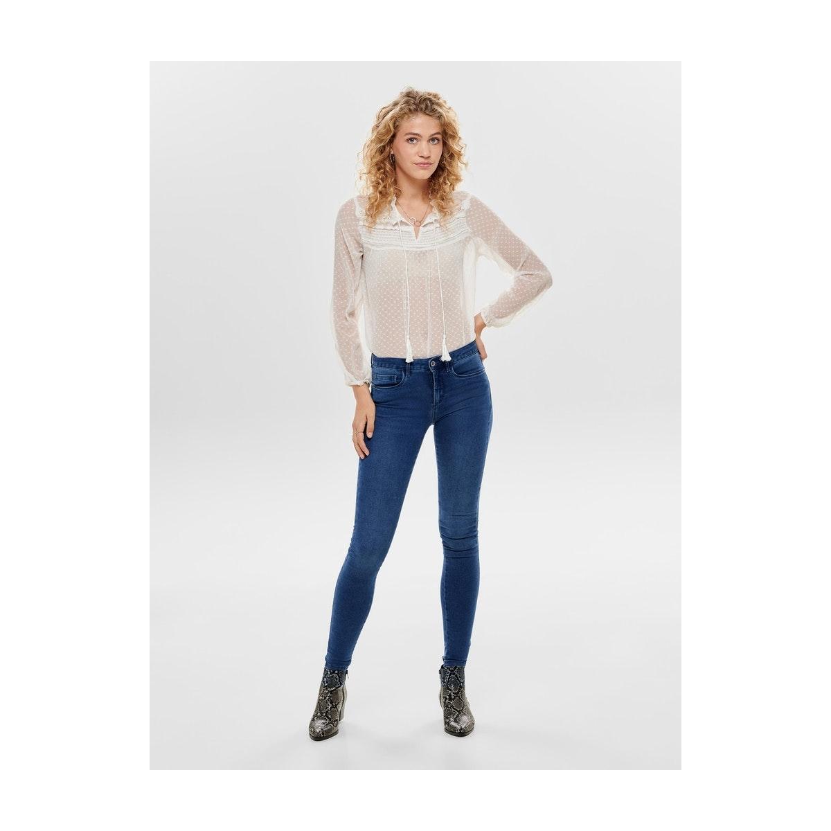 onlroyal reg skinny pim504 15096177 only jeans medium blue denim