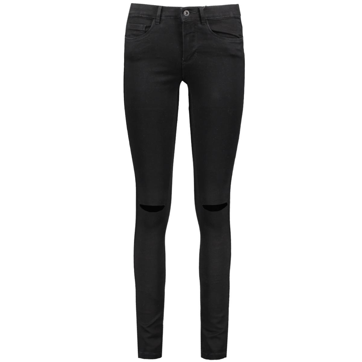 onlroyal reg sk kneecut jeans 15097973 only jeans black