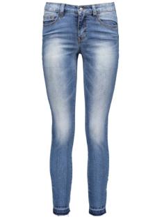 Pieces Jeans pcJust Thrine Cropped Leg 17071255 Medium Blue Denim