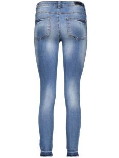pcjust thrine cropped leg 17071255 pieces jeans medium blue denim