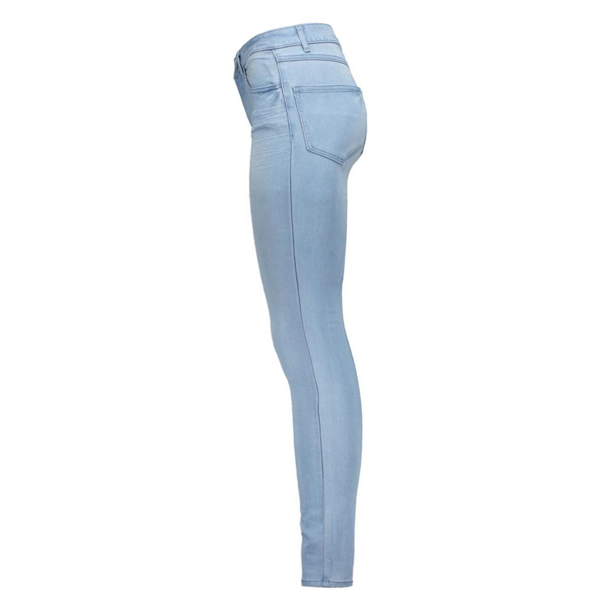 vicommit rw 5p 14033868 vila jeans light blue denim